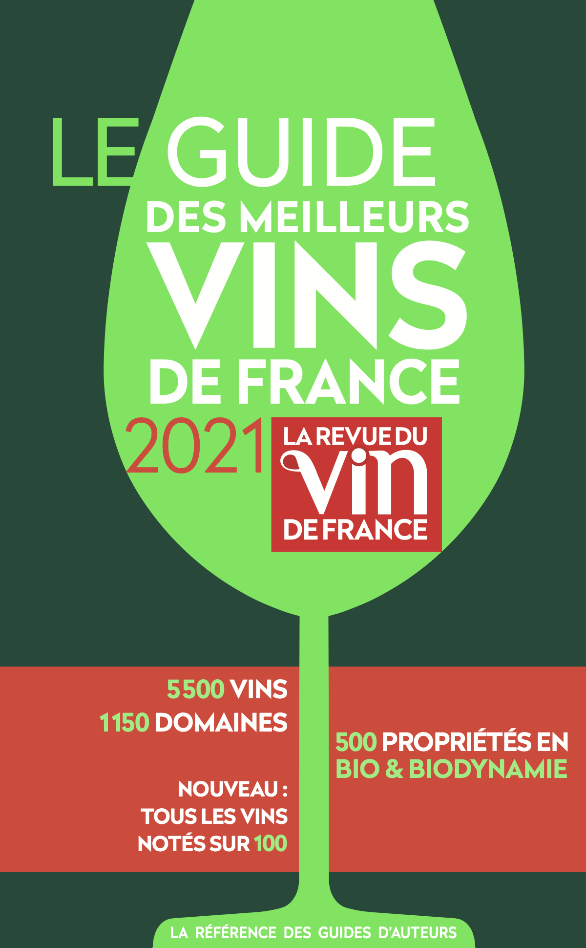 GREEN GUIDE OF THE FRENCH WINE REVIEW (RVF) 2021